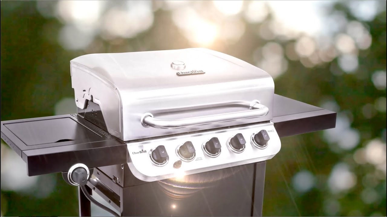 Char Broil Performance 5 Burner Gas Grill Youtube