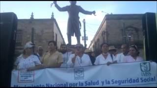 Rosa Alba Nachis Discurso en Manifestación