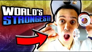 World's STRONGEST Magnet Toy! Feel Flux AntiGravity Science Experiment!