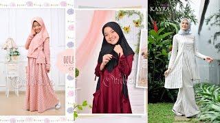 Baju Muslim Anak Perempuan Terbaru 2019 2020 Usia 681012 Tahun