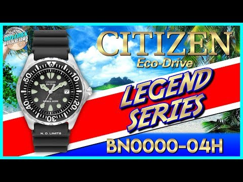 Legend Series! | Citizen Promaster 300m Solar Quartz Diver BN0000-04H Revisited