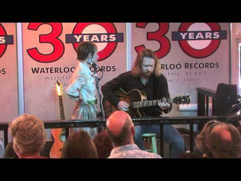 "Kat Edmonson ""Long Way Home"" live at Waterloo Records in Austin, TX"