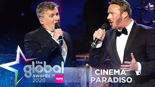 Aled Jones & Russell Watson - 'Cinema Paradiso' (Live at The Global Awards 2020) | Classic FM