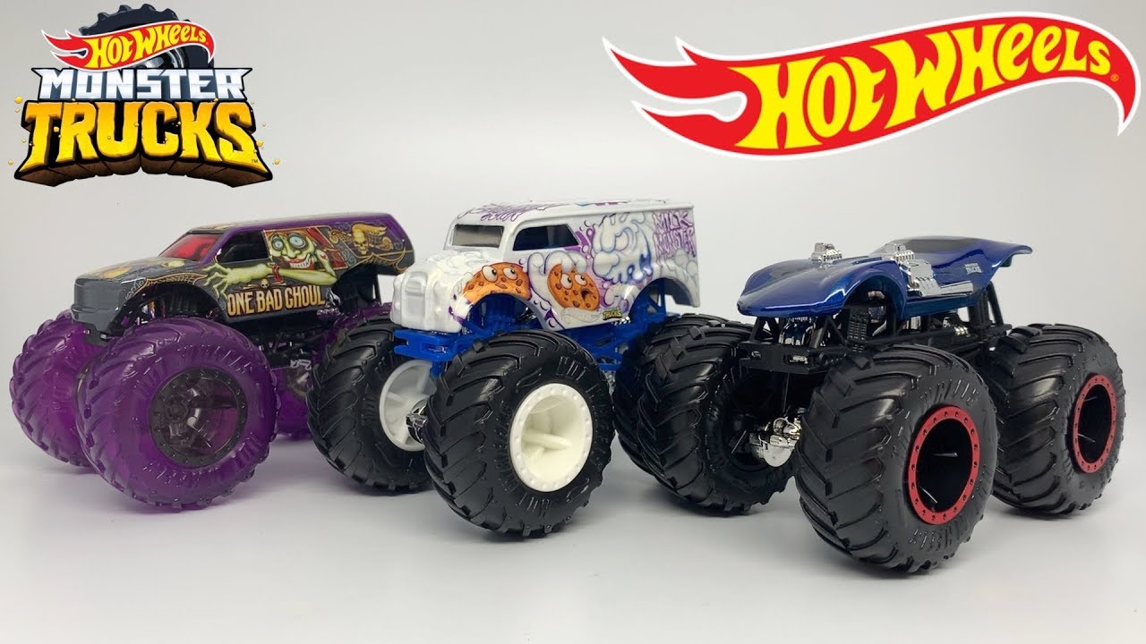 Hot Wheels Monster Trucks Case A 2020 Review Youtube