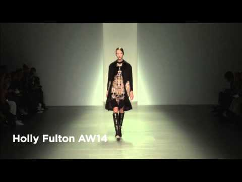 Holly Fulton London Fashion Week show: Holly Fulton AW14 Collection