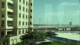 Dubai, United Arab Emirates - Palm Jumeirah Monorail - Gateway to Atlantis HD (2011)