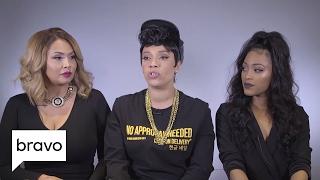 first family of hip hop shanell lady luck jones and somaya reece on romance season 1 bravo