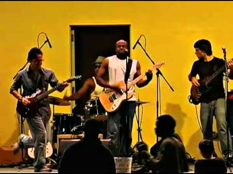 """Jay Blue's Band performing """"Midnight Train"""" at the..."""