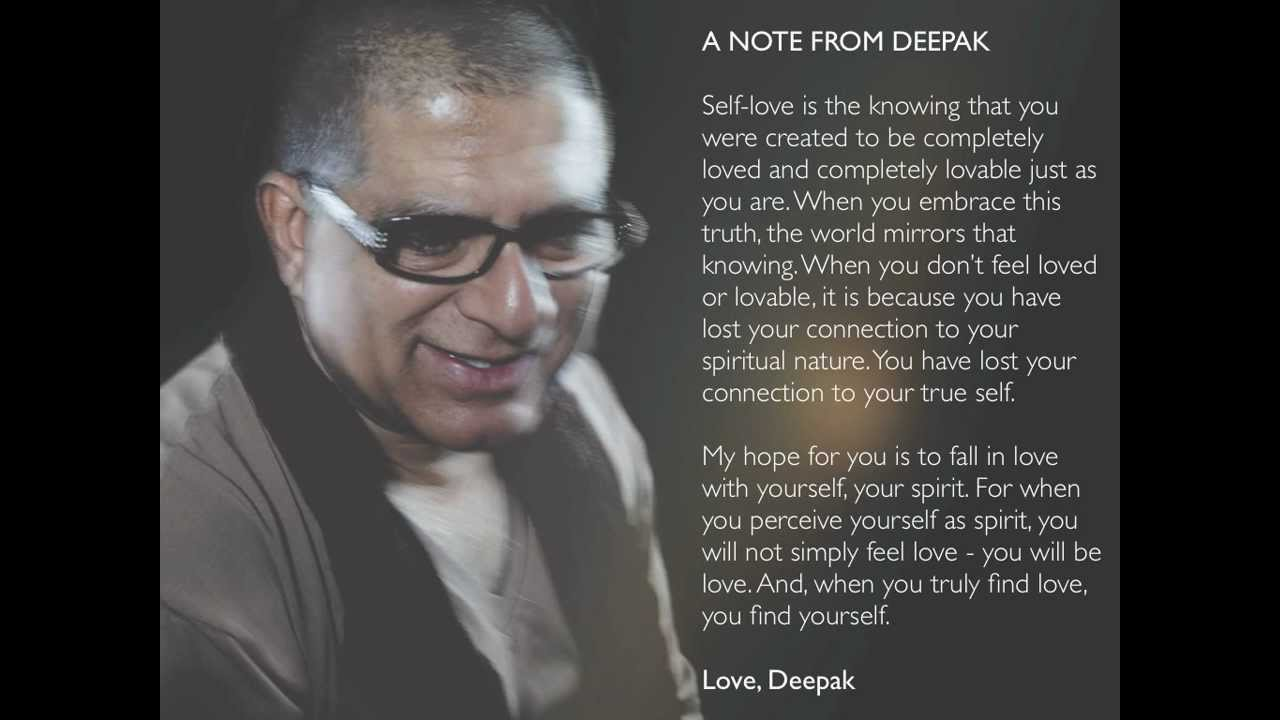 How to attract your soulmate deepak chopra