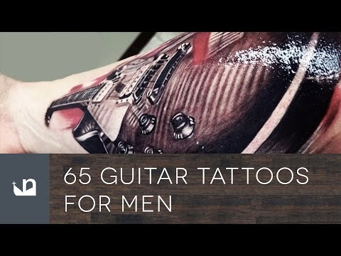 65 Guitar Tattoos For Men