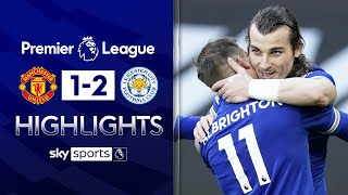 Leicester beat Man United to hand Man City the PL title🏆 | Man United 1-2 Leicester | EPL Highlights