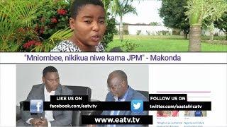 """""""Mniombee, nikikua niwe kama JPM"""" - Makonda, Lissu, Zitto ngoma droo"""