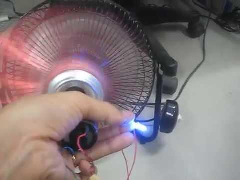 Chế tạo máy phát điện năng lượng gió mini từ lon Cocacola