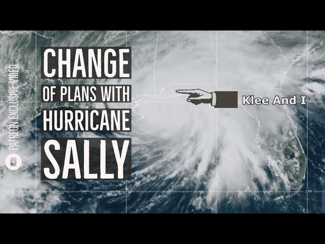 Change Of Plans With Hurricane Sally