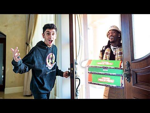 Offset Delivered Food