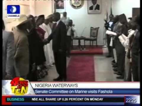 Nigeria Waterways:Senate Committee on Marine visits Fashola