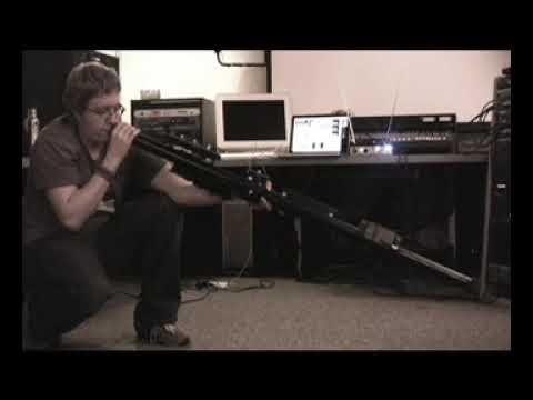 Electroniy Modified Didgeridoo Kyle Evans