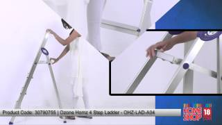 Homeshop18.com - Ozone Homz 4 Step Ladder - OHZ-LAD-A04