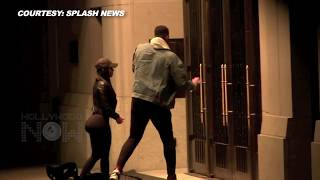 Tristan Thompson Inside Hotel Video With Mystery Girl Tania Days Before Khloe Kardashian Gave Birth