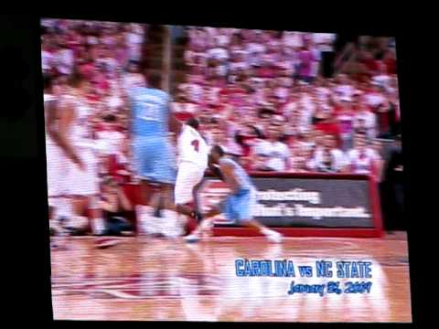 2008-9 UNC Basketball Season Highlights (2 of 4)