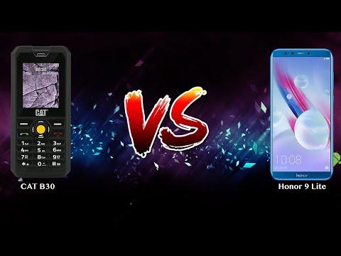 CAT B30 vs Honor 9 Lite - Phone battle