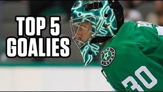 Top 5 Goalies | 2019 Fantasy Hockey Draft Kit
