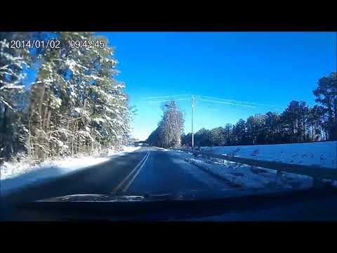 Cisco RTP Morrisville North Carolina snow Drive January 19th 2018