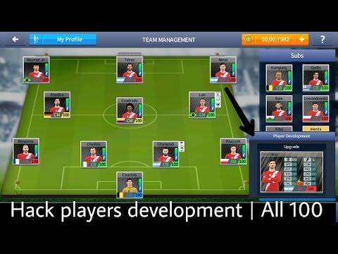 Dream league soccer 2017 | Players development hack | Breakthrough All