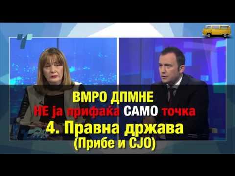 Кои услови на ДУИ ги прифатиле во ВМРО-ДПМНЕ