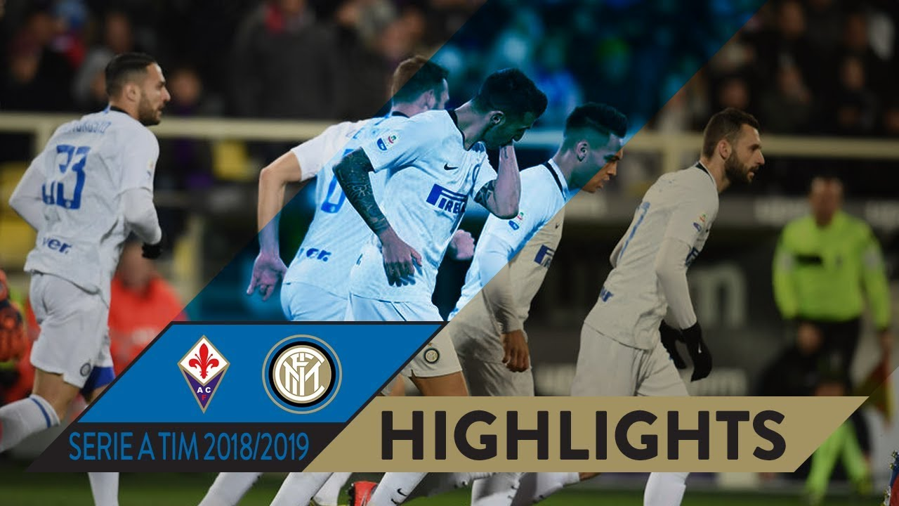 FIORENTINA 3-3 INTER   HIGHLIGHTS   Matchday 25 Serie A TIM 2018/19   A 101  minute draw... - YouTube