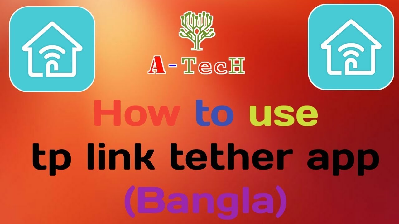 How to use tp-link tether app in android 2017(Bangla)