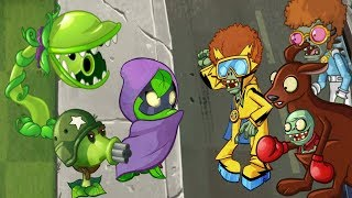 Plants vs zombies 2 Animation Heroes in PVZ 2 PART 5 Cartoon