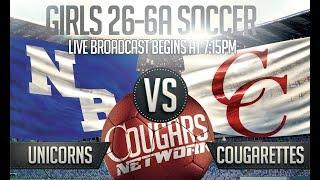LIVE Girls Soccer - New Braunfels Unicorns vs Canyon Cougarettes