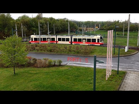 The Dresden tram 2625 / Germany, April 2017 / Part: 5