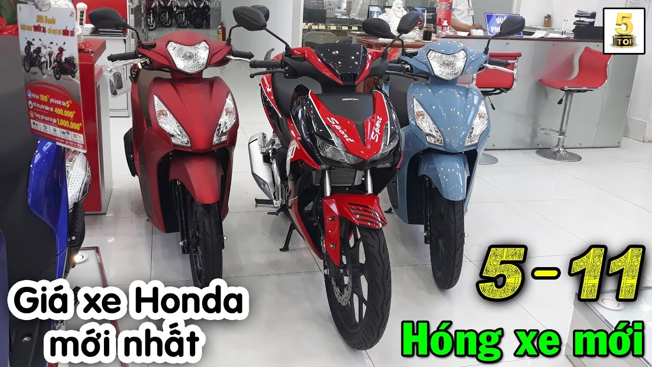 Hỏi giá xe Honda mới nhất tại Head Hồng Đức 6 ▶️ 5/11 chào đón xe Honda mới 🔴 TOP 5 ĐAM MÊ