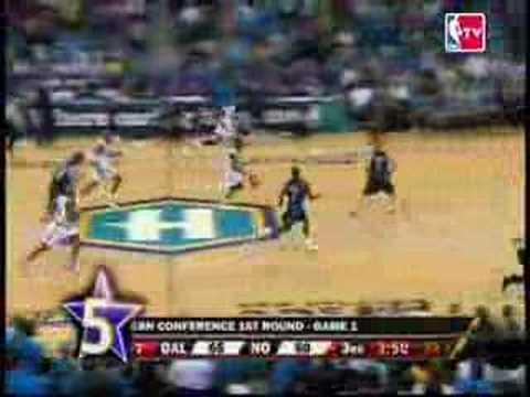 Top 10 Plays: Hornets Vs Mavericks 2008 Playoffs