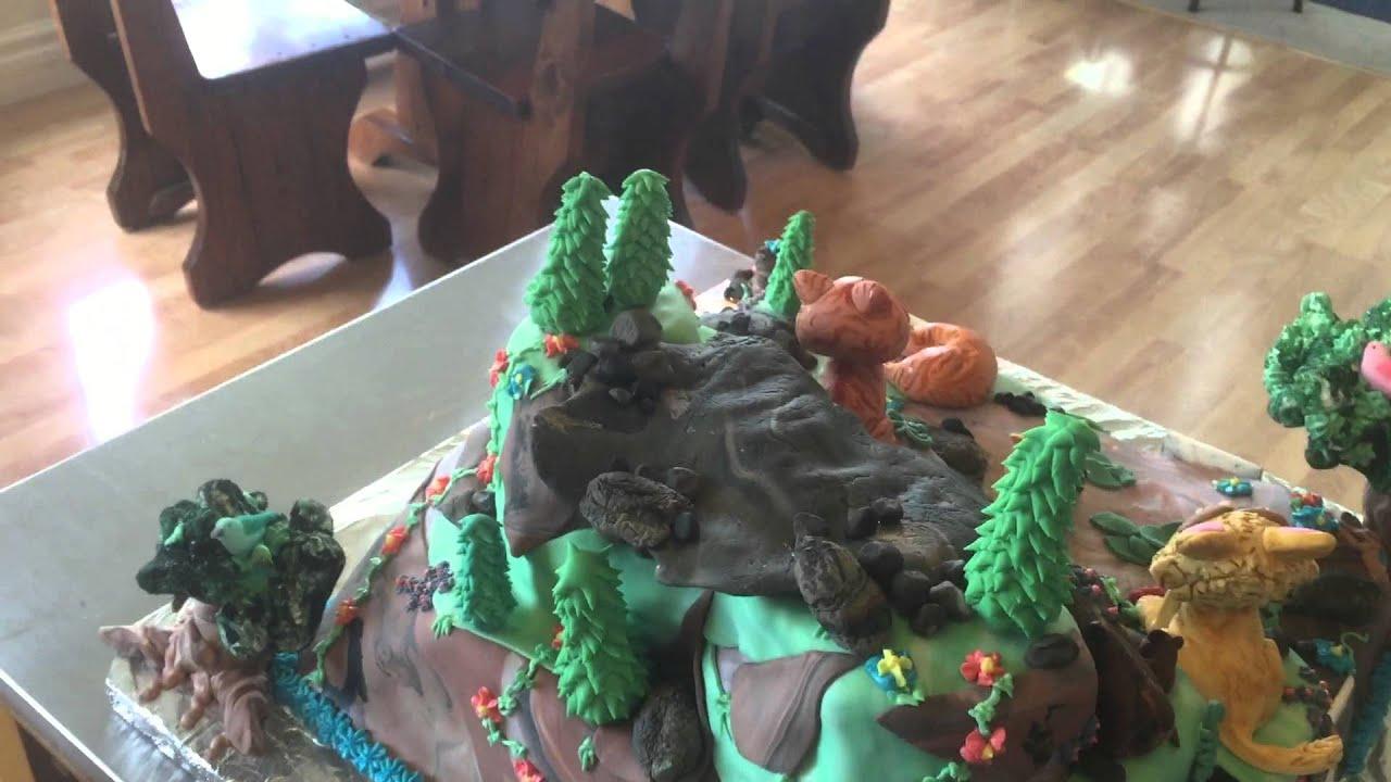 Warrior Cat Birthday Cake Youtube