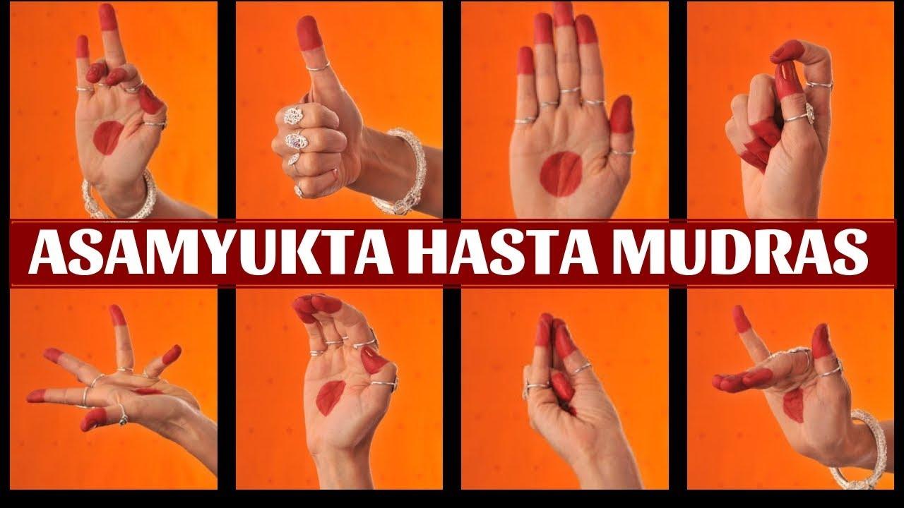 Download Asamyukta Hasta Mudras/ Single Hand Gestures with Shloka | Classical Dance lessons part 1