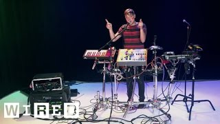 Electro Musician Robert DeLong Shows Off His Tricked-Out Rig