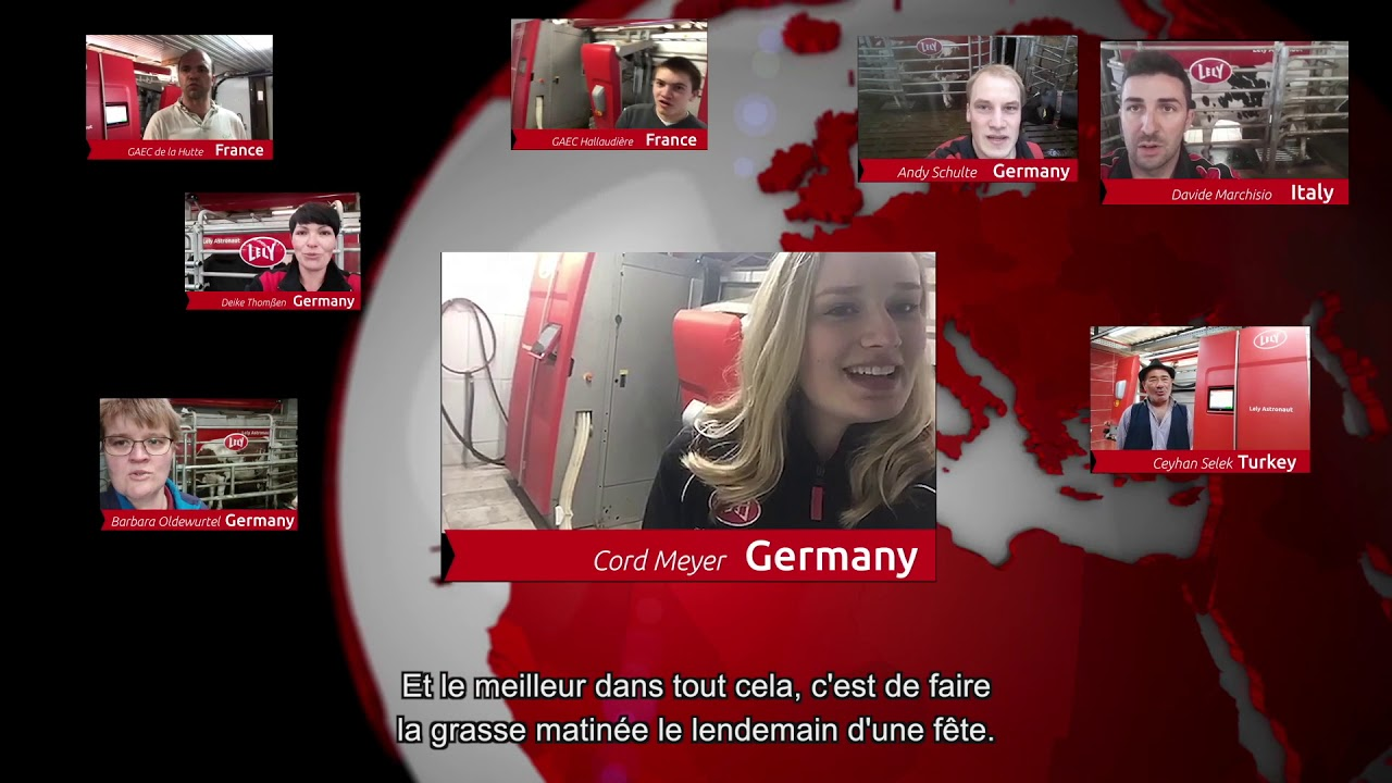 Lely Astronaut A5 – 1 an d'expérience – video 3 (FR)
