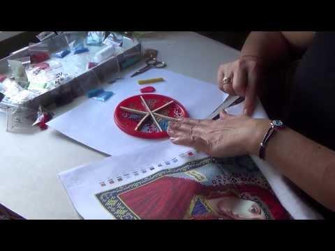 Вышивка бисером икон и картин