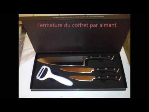 Aicok Couteau ensemble de couteaux aicok - youtube