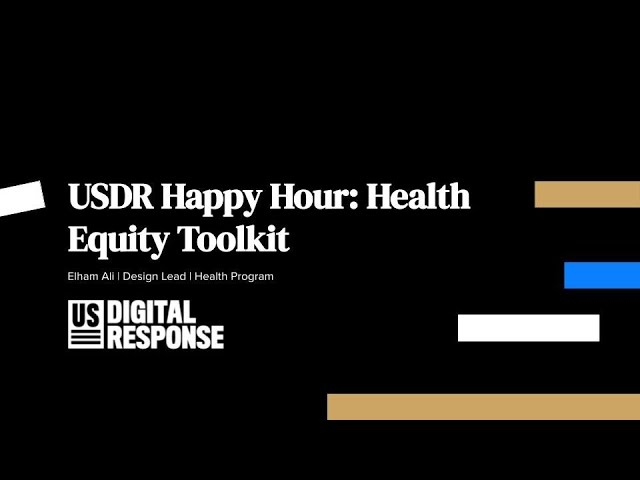 Health Equity Toolkit