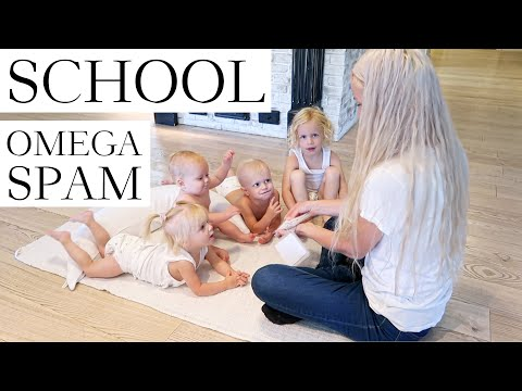 OMEGA'S BABY SPAM (glimpse at how I homeschool)
