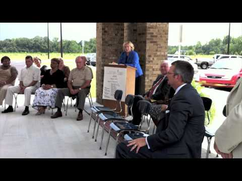 Claxton Middle School ribbon cutting ceremony