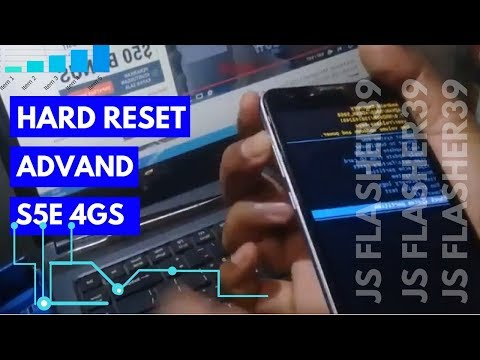 Solusi Advan S5E 4GS yang Tidak bisa di factory reset
