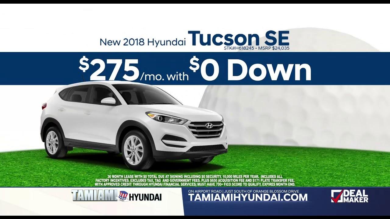 Zero $ Down at Tamiami Hyundai - YouTube