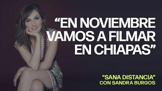 "Sandra Burgos en ""Sana Distancia"" con César Hernández"