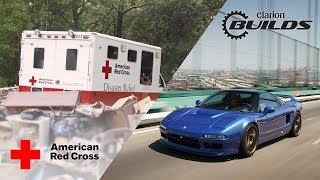 Final Mission of the Clarion Builds Acura NSX Benefits the American Red Cross