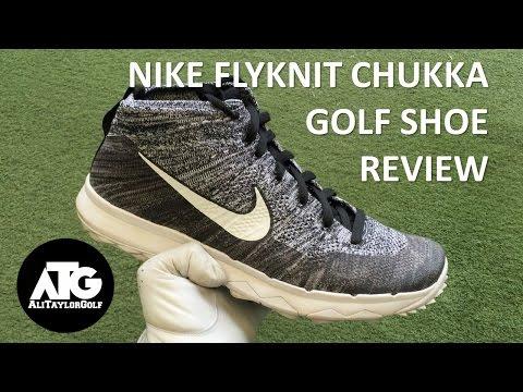 Estallar cocinar Allí  NIKE FLYKNIT CHUKKA GOLF SHOE REVIEW - YouTube
